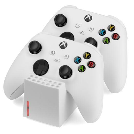 Snakebyte Twin:Charge SX stacja ładująca do Xbox Series S / X biała 2x800