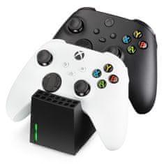 Snakebyte XSX Twin:Charge SX nabíjecí stanice pro Xbox Series S / X, černá