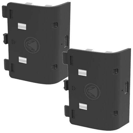 Snakebyte Battery:Kit SX baterie pro ovladač Xbox SX 2x800 černý