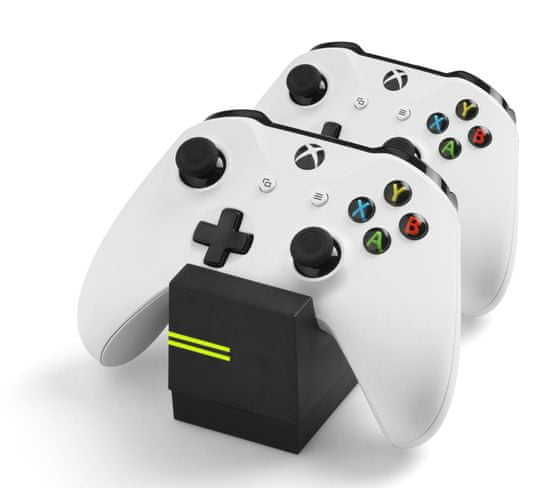 Snakebyte Twin:Charge X Xbox One Controller Charger + 2x800 mAh Černá baterie