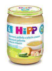 HiPP BIO zeleninová s telacím mäsom 6x 190 g