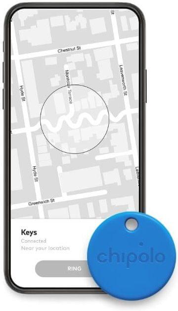 Chipolo ONE – Bluetooth lokátor, černý