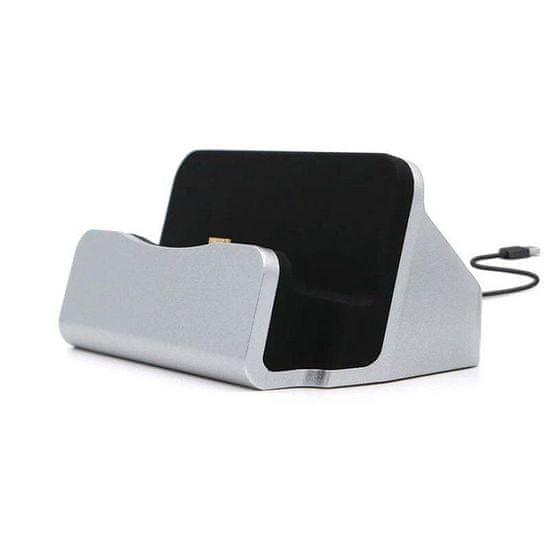 Timeless Tools Micro USB-s asztali töltő-fekete