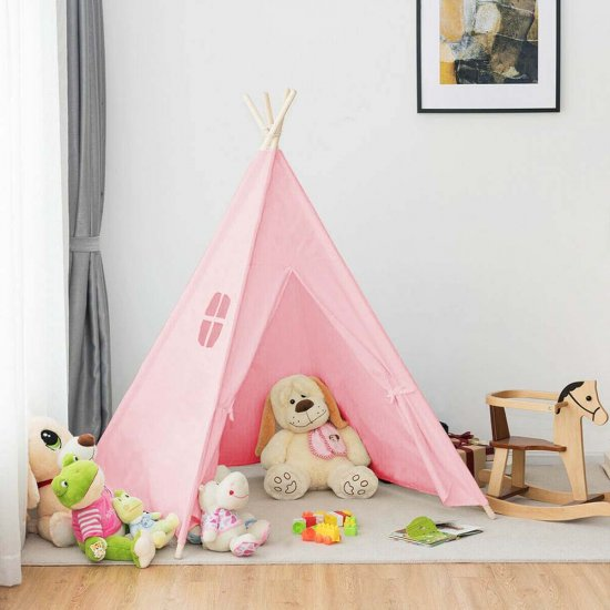 Timeless Tools Indián sátor gyerekeknek, 3 színben-rózsaszín