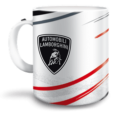 Ars Una Hrnek Lamborghini 300 ml bílý