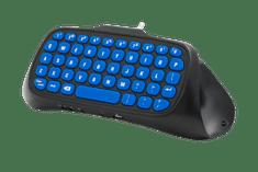 Snakebyte Key:Pad 4 klávesnice pro PS4, modrý