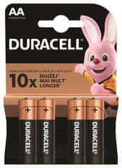 """Duracell Baterie """"Basic"""", AA, 4 ks, 10PP100001"""
