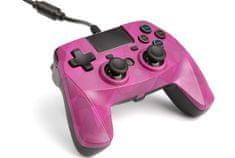 Snakebyte GAME:PAD 4 S przewodowy kontroler PS4 bubblegum camo