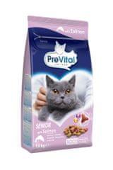 PreVital granule kočka Senior losos 4x1,4 kg
