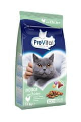 PreVital granule mačka Adult Indoor kurča 4 x 1,4 kg