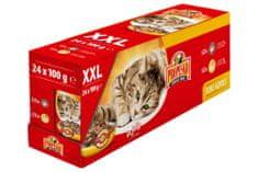 Propesko kapsa kočka kuře+hovězí 24x100 g