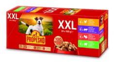 Propesko kapsa pes kuře+hovězí+krůta+jehně 24x100 g