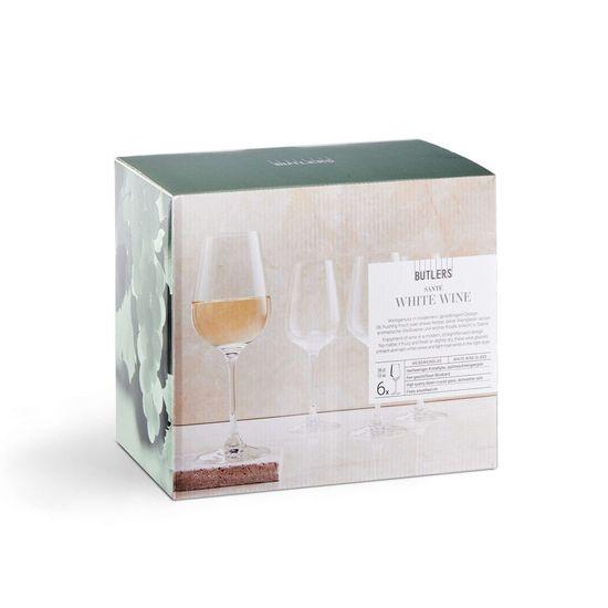 Butlers Sada sklenic na bílé víno 360 ml 6 ks
