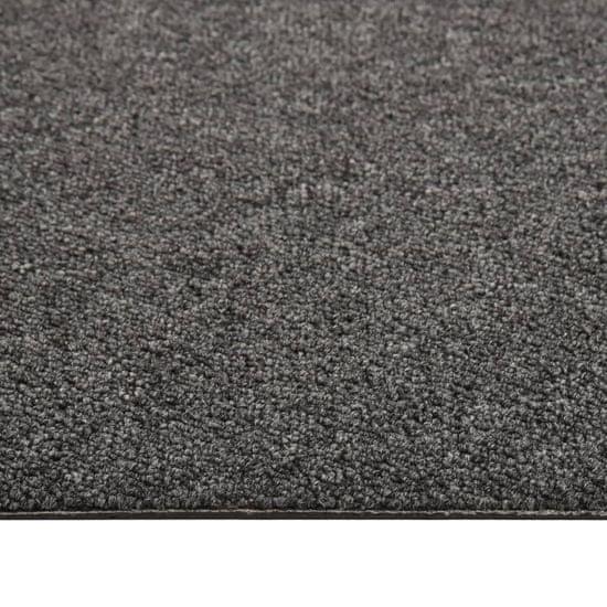 shumee Talna obloga preproga 20 kosov 5 m² 50x50 cm antracitna