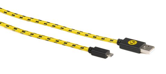 Snakebyte FC Borussia Dortmund universal Micro USB polnilni kabel