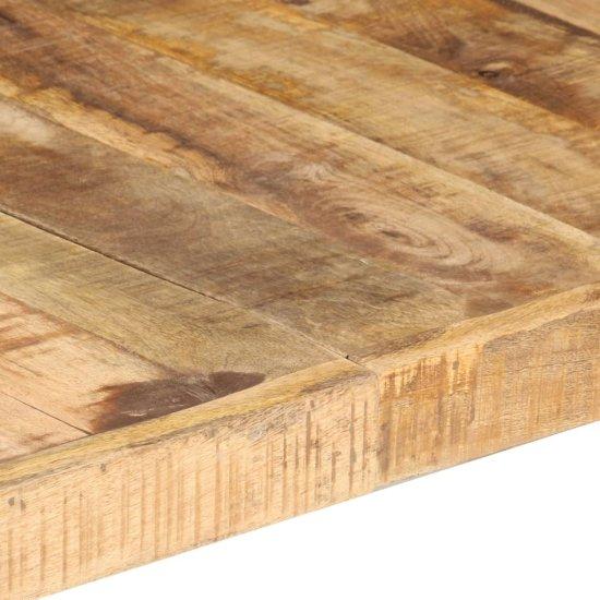 shumee nyers mangófa dohányzóasztal 180 x 90 x 40 cm