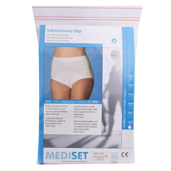 Mediset Inkontinenční dámské kalhotky s nepropustnou PU - membránou UNI