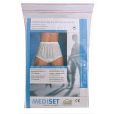 Mediset Inkontinenční dámské kalhotky s širokým měkkým gumovým pasem a absolutně nepropustnou PU - fólií po (Velikost Vel. 46/48)