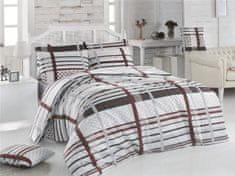 Brotex  Povlečení francouzské bavlna 200x200,70x90 Monty natur, Výběr zapínání: zipový uzávěr