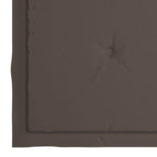 shumee blazine za vrtni stol 4 kosi Taupe Barva 50x50x4 cm