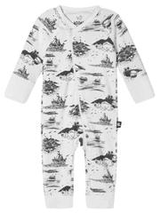 Reima otroški pajac Moomin Trygg, 56 - 62, beli