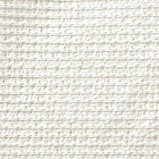 shumee Żagiel przeciwsłoneczny, 160 g/m², biały, 2,5x3 m, HDPE