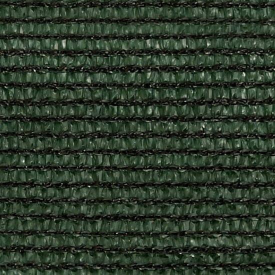 shumee Sun Sail 160g / m² tmavo zelená 3,6x3,6m HDPE
