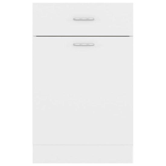shumee omara s predalom Bela 50x46x81,5 cm deska