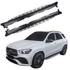 J&J Automotive Bočné našľapy Mercedes GLE W167 2019-vyššie