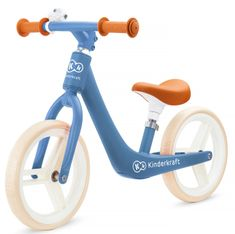 KinderKraft Balance bike FLY PLUS, kék