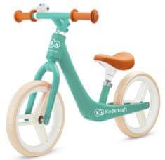 KinderKraft Balance bike FLY PLUS, zöld
