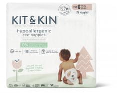 Kit & Kin Eko plenky, velikost 6 (14+ kg) 26 ks