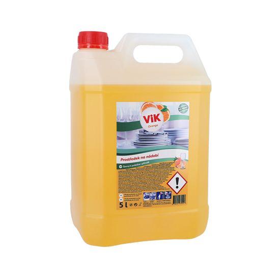 ViK na nádobí orange 5L
