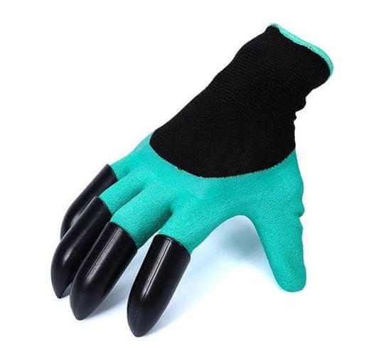 Netscroll Vrtne rokavice s plastičnimi kremplji Gardenstar