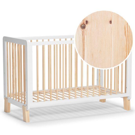 KinderKraft otroška večnamenska posteljica LUNKY