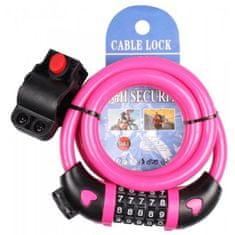 Merco Digit 1.0 ključavnica, roza