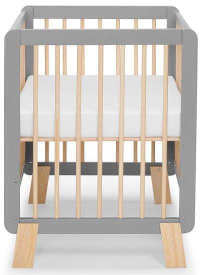 KinderKraft łóżeczko LUNKY z materacem