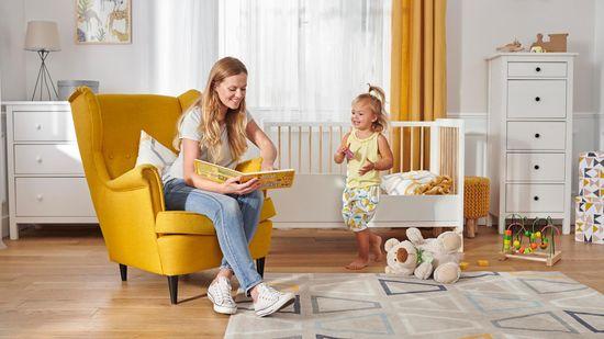 KinderKraft LUNKY s matracom