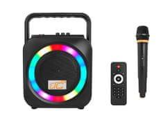 LTC Power Audio LTC Disco zvočnik BT / SD / USB / FM / REC / MIC / RGB, 15 W / 120 W.