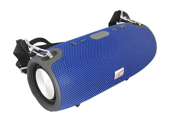 LTC Prenosni bluetooth zvočnik LTC XL tuba AUX / BT 4.0 / FM / USB, RMS> 6 W DC 5V 1A moder