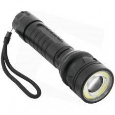 ENTAC Akumulatorska ALU LED svetilka z zoomom 8W IP65