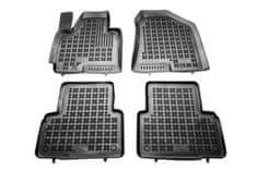 REZAW-PLAST Gumové koberce, černé, sada 4 ks (2x přední, 2x zadní), Hyundai IX35 (SUV) od 01.2010