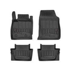 FROGUM Gumové koberce, černé, sada 4 ks (2x přední, 2x zadní), Ford Ecosport (SUV) od 11.2017