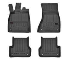 FROGUM Gumové koberce, černé, sada 4 ks (2x přední, 2x zadní), Audi A6, A6 Allroad (Kombi/Sedan) od 11.2010-09.2018