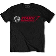 Tričko Marvel Comics - Stark Industries unisex černé