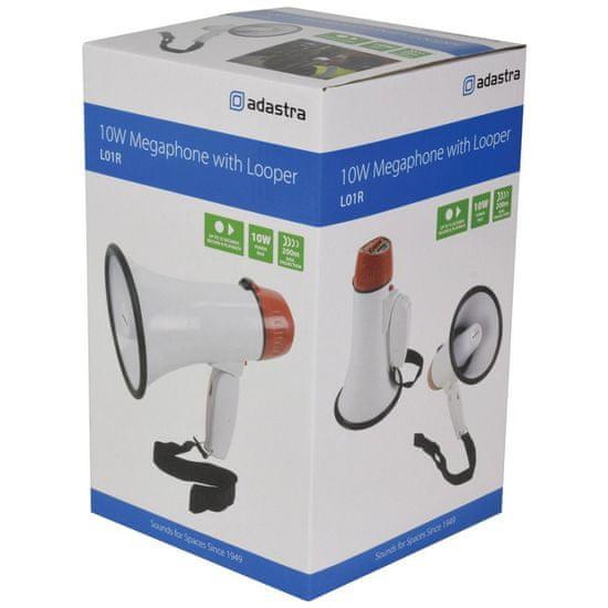 Adastra L01R, megafon, 10W