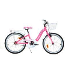 Dino bikes Smarty 20 otroško kolo, roza-belo