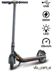 Trevi EMG Velociptor EVO ES88W 8,5 električni skiro, zložljiv, črn