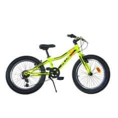 Dino bikes Plus 20 otroško kolo, rumeno