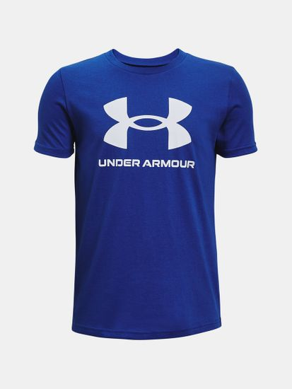 Under Armour Tričko Sportstyle Logo SS-BLU